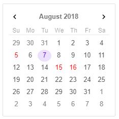 Angular Calendar.Angular 7 Calendar Calendar Jqwidgets For Angular