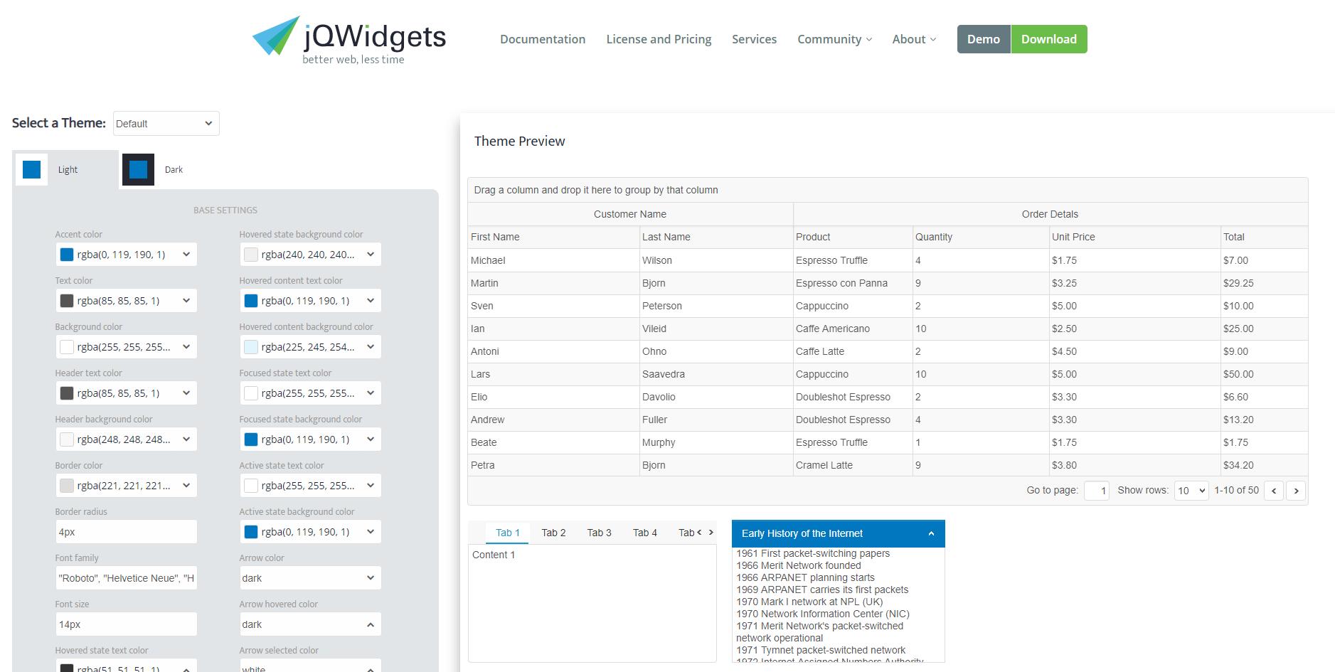 jQWidgets Blog - Javascript, HTML5, jQuery Widgets