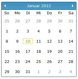 jquery calendar localization