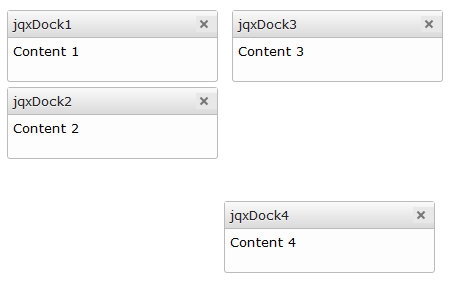 jquery-docking-floating-window